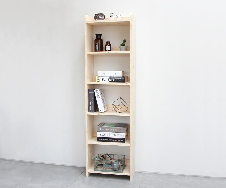 원목책장 400-6단 - 럼버잭, 88,000원, 책장/서재수납, 책장